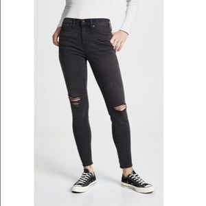 "Madewell 9"" high rise skinny NEW WITH TAGS"